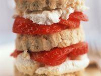 Erdbeer-Sahne-Scones Rezept