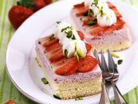 Erdbeer-Sahneschnitten Rezept
