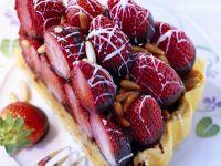 Erdbeer-Schokotarte Rezept
