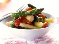 Erdbeer-Spargel-Salat Rezept