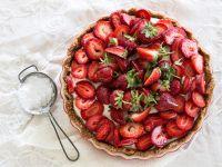 Erdbeer-Tarte mit Vanillecreme Rezept