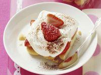 Kochbuch für Erdbeer-Tiramisu
