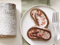 Erdbeer-Tiramisu-Rolle Rezept