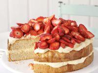 Erdbeer-Vanilletorte Rezept