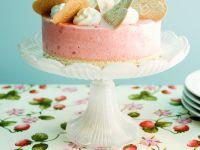 Erdbeereis-Torte Rezept