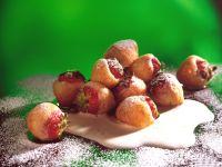 Erdbeeren im Ausbackteig Rezept