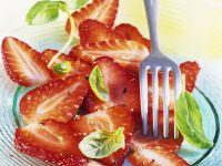 Erdbeeren mit Pfeffer Rezept