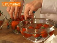 Erdbeeren zubereiten