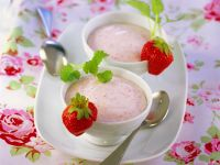 Erdbeerquarkcreme Rezept
