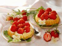 Erdbeertarteletts Rezept
