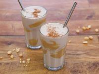 Erdnuss-Bananen-Shake mit Quark Rezept