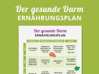 Ernährungsplan für einen gesunden Darm