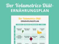 Ernährungsplan Volumetrics-Diät