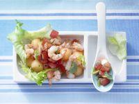 Eskariol-Melonen-Salat Rezept