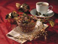 Espresso-Mokka-Creme mit Grappa-Rosinen Rezept