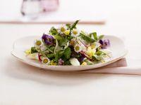 Essblumen-Salat Rezept