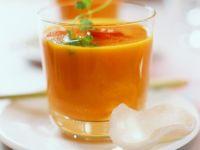 Exotische Karottensuppe mit Ingwer und Koriander Rezept