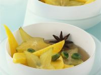 Exotische Sirup-Früchte Rezept