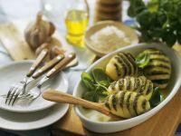 Fächerkartoffeln mit Pesto Rezept