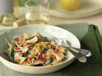 Farfalle mit Gemüse und Zitrone Rezept