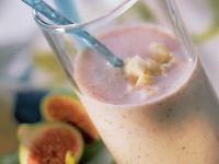 Feigen-Bananen-Milchshake Rezept