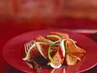 Feigen mit Balsamico und Schinken Rezept