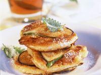 Feigen-Pancakes mit Sirup