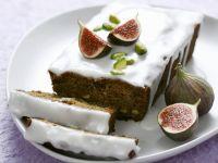 Feigen-Pistazien-Kuchen Rezept