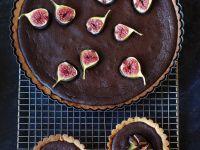 Feigen-Torteletts mit Schokolade und Feigen-Schoko-Tarte Rezept