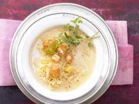 Feine Sauerkrautsuppe Rezept