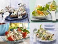 Ei, Geflügel, Fleisch – Feinkostsalate selber machen