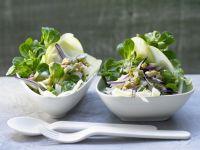 Feldsalat mit Emmentaler Rezept