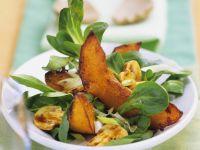 Feldsalat mit Champignons Rezept