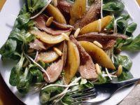 Feldsalat mit Hasenfilet
