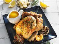 Fenchel-Hähnchen mit Zitrone Rezept