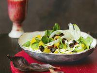 Fenchel-Orangen-Salat mit Feta Rezept