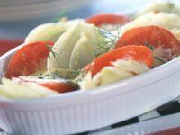 Fenchel-Tomaten-Auflauf Rezept