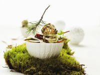 Fenchelsalat mit Birne, Cranberries und Frischkäse Rezept