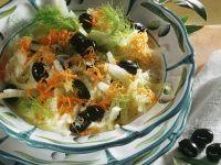 Fenchelsalat mit Möhren Rezept