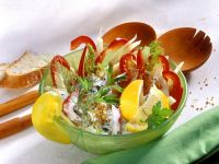 Fenchelsalat mit Paprika Rezept