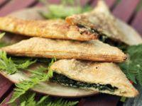 Feta-Spinat-Taschen Rezept