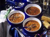 Feurige Bohnensuppe Rezept