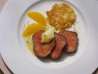 Filetsteak mit Orangensauce Rezept