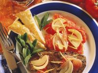 Filetsteaks mit Tomaten und Knusperecken Rezept