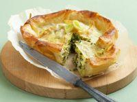 Filoteig-Feta-Kuchen Rezept