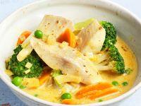 Fisch-Gemüse-Curry Rezept