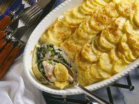 Fisch-Kartoffelgratin Rezept