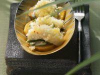 Fisch-Kokos-Auflauf mit Süßkartoffeln Rezept