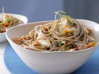 Fisch-Kokos-Spaghetti Rezept