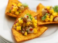 Fisch-Mangosalsa Rezept